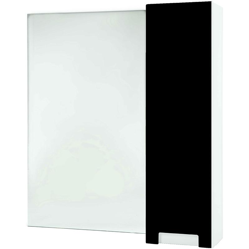 Зеркало со шкафом Bellezza Пегас 90 R 4610415001040 Черное
