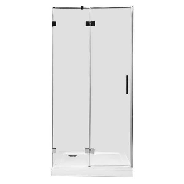 Душевая дверь в нишу Aquanet Beta NWD6221 90 R 185946 профиль Хром стекло прозрачное