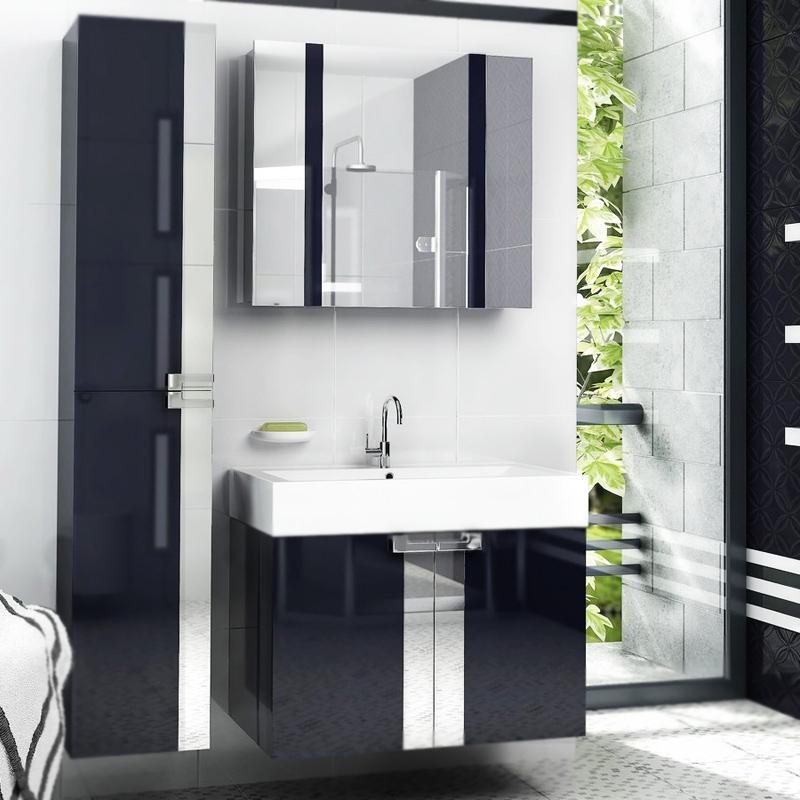 Fresh 80 подвесная БелыйМебель для ванной<br><br>Подвесная тумба под раковину Edelform Fresh 80 1-550-00-E80 белого цвета, с зеркальными вставками, с двумя распашными дверцами. Предназначена для использования в ванных комнатах с повышенной влажностью.<br><br><br>Простые четкие линии без лишних деталей.<br>Сочетание комфорта и функциональности.<br>Безопасность: экологически чистые составляющие.<br>Материал: МДФ повышенной плотности.<br>Многослойное покрытие Edelform Crystal: итальянская эмаль Milesi.<br>Поверхность: глянец.<br>Фурнитура: глянцевый хром.<br>Метод запекания кромки Waterproof: влагостойкость и долговечность.<br>Монтаж: подвесной, крепление к стене.<br><br><br>Отделение:<br>две распашные дверцы.<br>Петли Edelform: доводчики для плавного движения.<br><br><br>В комплекте поставки:<br>тумба.<br>Поставляется в собранном виде.<br><br>