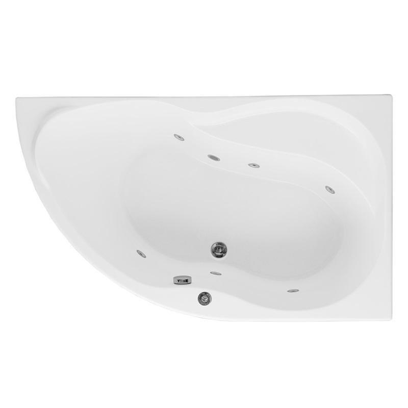 Акриловая ванна Aquanet Graciosa 150x90 R 00203941+243001+204668 с гидромассажем