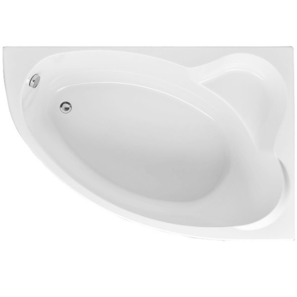 Акриловая ванна Aquanet Mayorca 150x100 R 204009 без гидромассажа акриловая ванна aquanet mayorca 150x100 r правая с каркасом без гидромассажа 205438