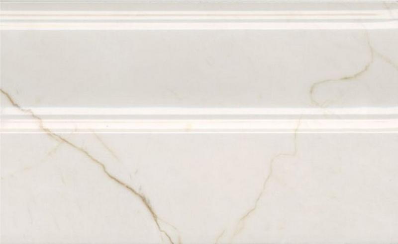 Керамический плинтус Kerama Marazzi Театро бежевый светлый обрезной FMB022R 15х25 см недорого