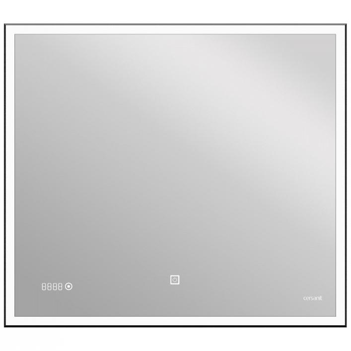 Зеркало Cersanit Led 011 Design 80 LU-LED011*80-d-Os с подсветкой с часами