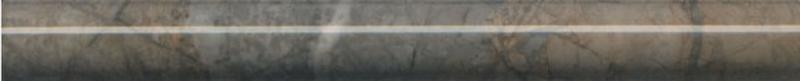 Керамический бордюр Kerama Marazzi Театро коричневый обрезной SPB007R 2,5х25 см недорого