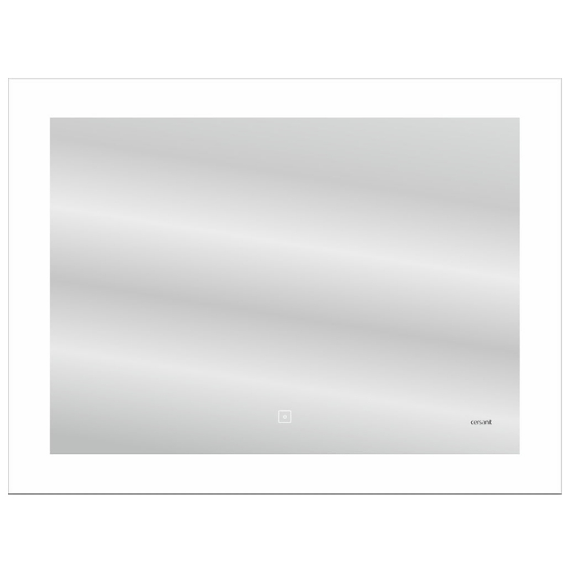 Зеркало Cersanit Led 030 Design 80 LU-LED030*80-d-Os с подсветкой с диммером и подогревом