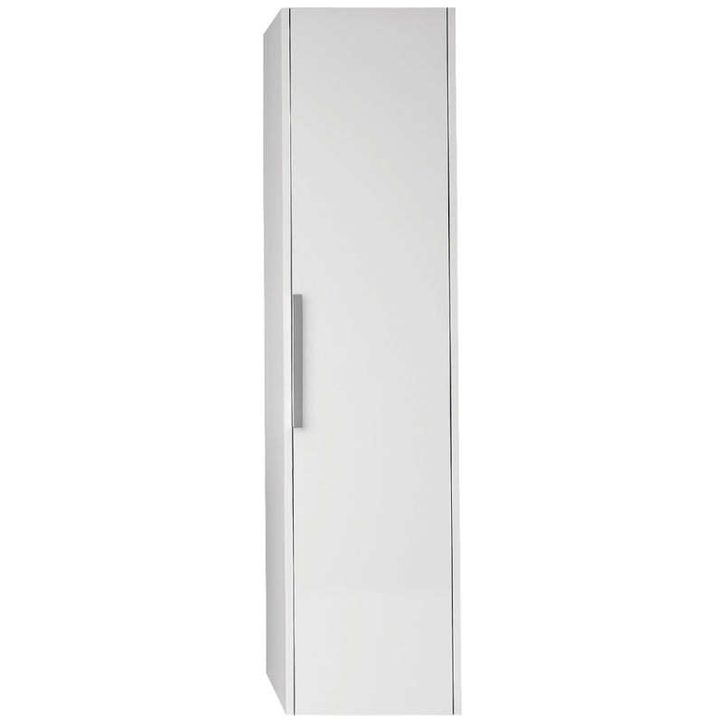 Шкаф пенал Dreja Prime 35 99.9303 подвесной Белый глянец