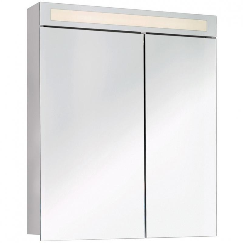 Зеркальный шкаф Dreja Uni 80 99.9003 Белый
