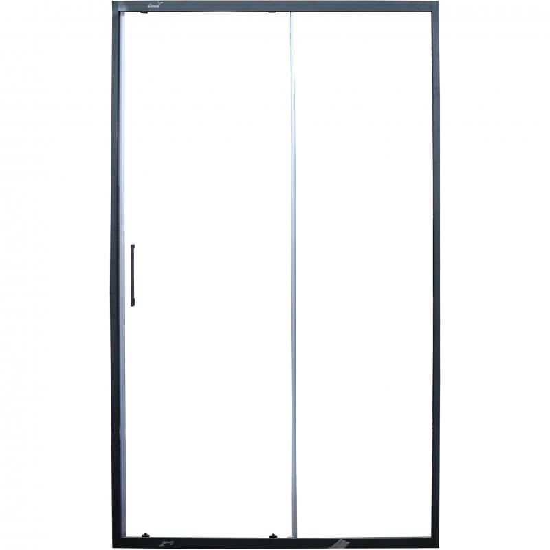 Фото - Душевая дверь Cerutti SPA Gloria D120B профиль Черный стекло прозрачное душевая дверь cerutti spa bella d81t 80х195 хром