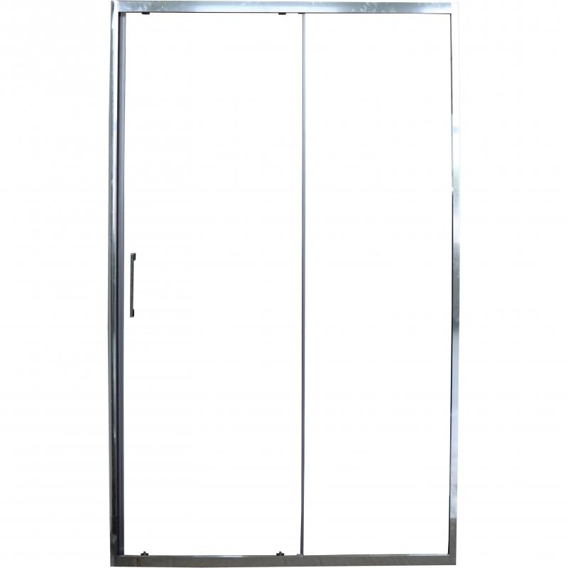 Фото - Душевая дверь Cerutti SPA Gloria D120 профиль Хром стекло прозрачное душевая дверь cerutti spa bella d81t 80х195 хром