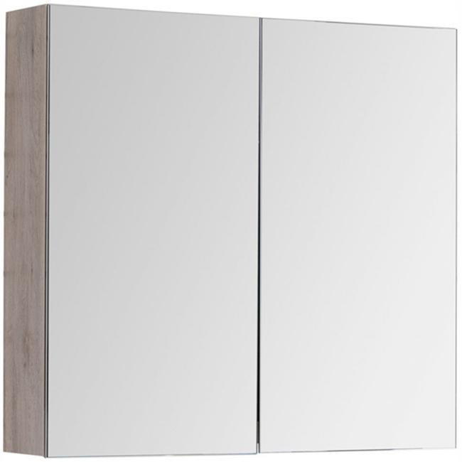 Зеркальный шкаф Dreja Premium 80 77.9002D Дуб Кантри
