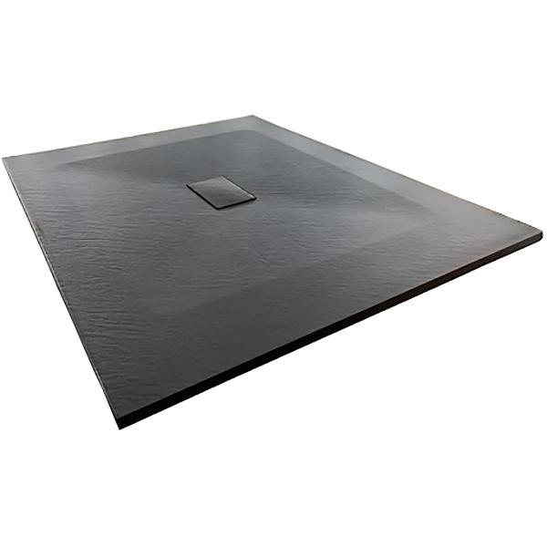 Душевой поддон из стеклопластика WasserKRAFT Elbe 74T10 120x100 Черный