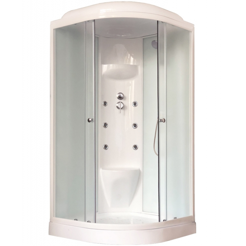 Душевая кабина Royal Bath HK 90х90 RB90HK7-WC с гидромассажем душевая кабина royal bath bk 100х100 rb100bk3 wc с гидромассажем