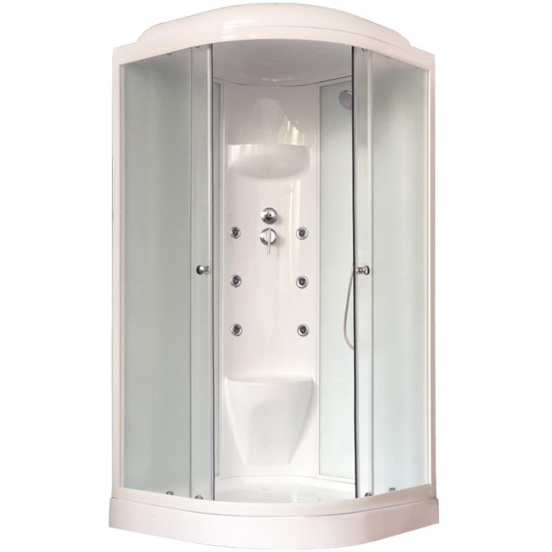 Душевая кабина Royal Bath HK 100х100 RB100HK7-WC с гидромассажем душевая кабина royal bath bk 100х100 rb100bk3 wc с гидромассажем