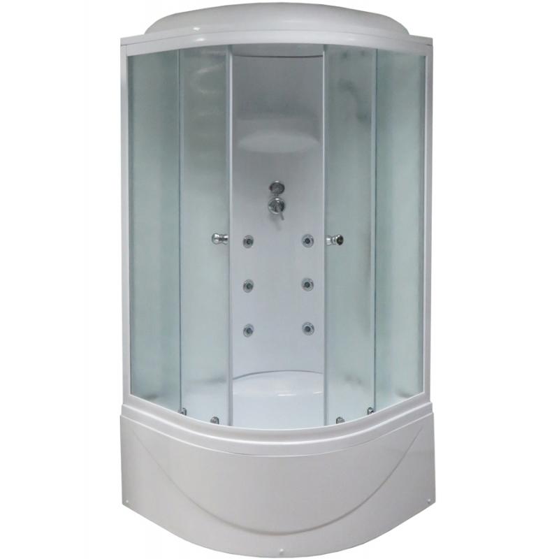 Душевая кабина Royal Bath BK 100х100 RB100BK3-WC с гидромассажем душевая кабина royal bath bk 100х100 rb100bk3 wc с гидромассажем