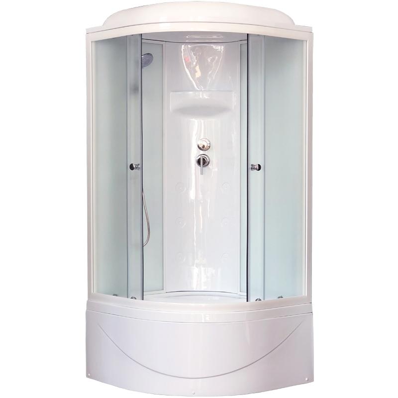 Душевая кабина Royal Bath BK 100х100 RB100BK6-WC без гидромассажа душевая кабина royal bath bk 100х100 rb100bk3 wc с гидромассажем