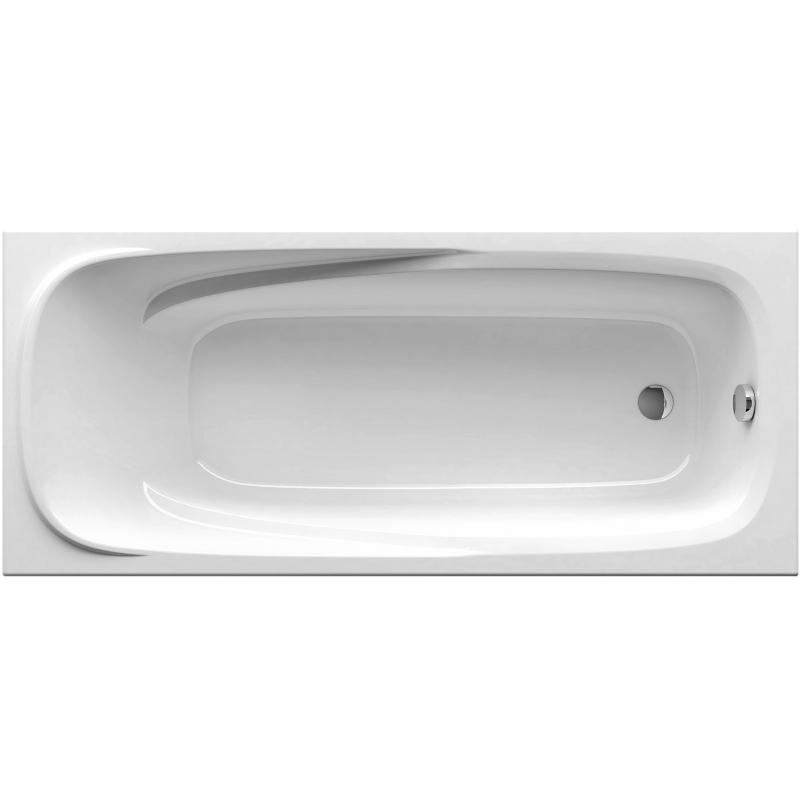 Акриловая ванна Ravak Vanda II 170 белая 170 акриловая ванна you 185x85 n без перелива ravak c871200000