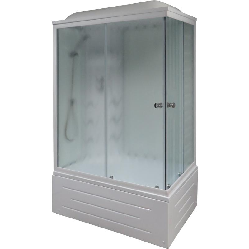 Душевая кабина Royal Bath BP 100х80 RB8100BP3-WC-L с гидромассажем душевая кабина royal bath bk 100х100 rb100bk3 wc с гидромассажем
