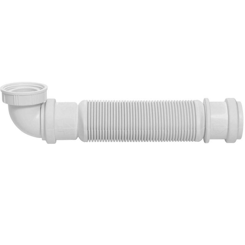 Сифон для раковины Wirquin Senzo 31560002 Белый G 1 1/4
