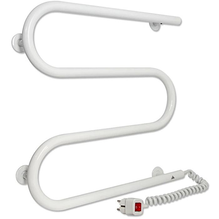 Электрический полотенцесушитель Laris М-образный ПС3 50х50 R 73207380 Белый