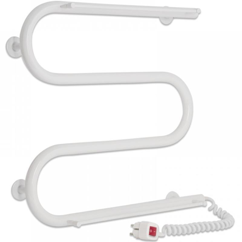 Электрический полотенцесушитель Laris М-образный 25 ЧК ПС3 50х50 R 73207454 Белый
