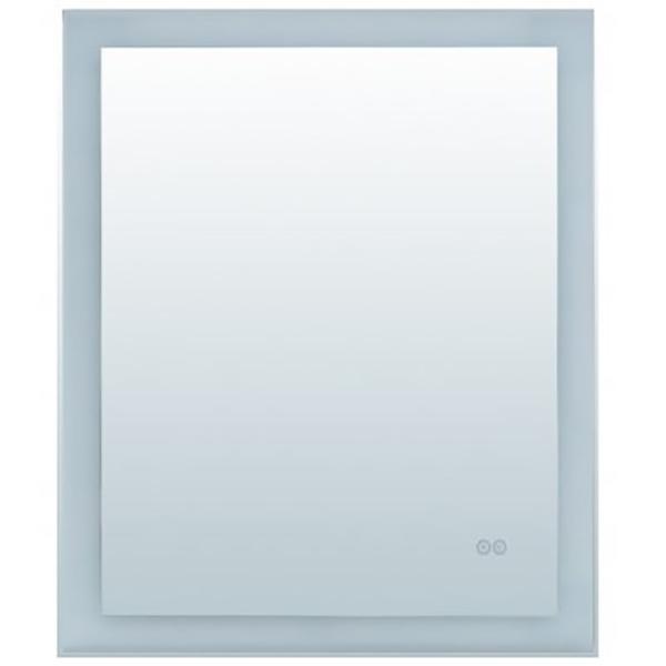 Зеркало Aquanet Алассио 45 249339 с подсветкой с сенсорным выключателем и функцией антизапотевания