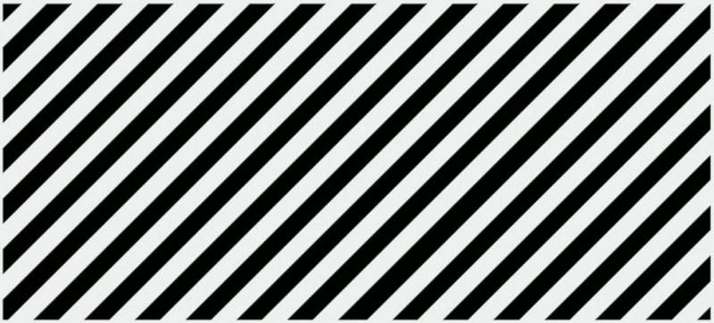 Керамический декор Cersanit Evolution Вставка диагонали черно-белый EV2G442 20х44 см керамический декор cersanit atria вставка бежевая an2g011 20х44 см