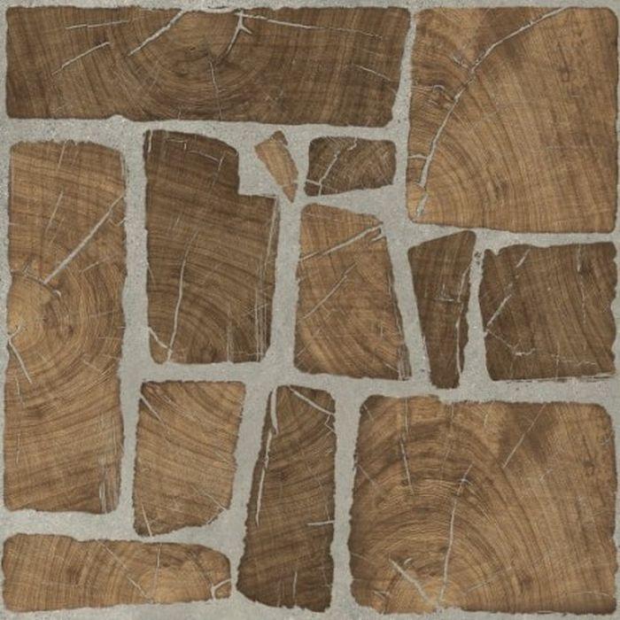 Керамогранит Cersanit Woodland коричневый WL4R112D-69 42х42 см керамогранит cersanit ivory коричневый iv4r112d c iv4r112d 42х42 см