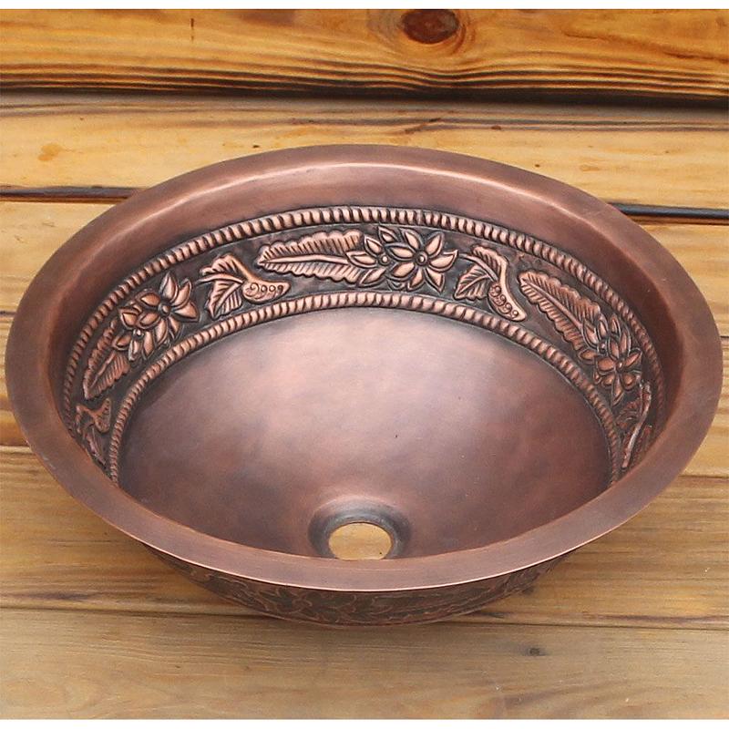 Раковина-чаша Bronze de Luxe 42 R108 Медь раковина bronze de luxe 1616