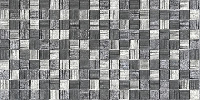 Фото - Керамическая плитка Axima Мегаполис Мозаика темно-серая настенная 25х50 см плитка настенная magia 50 23см светло серая 235061071