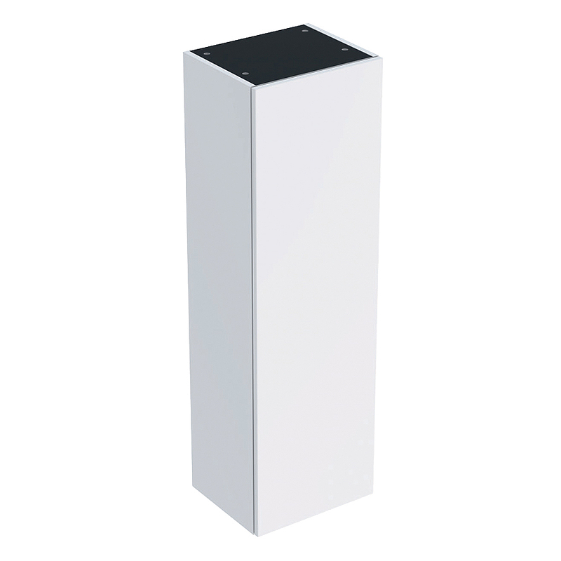 Шкаф пенал Geberit Smyle Square 36 500.361.00.1 подвесной Белый глянцевый