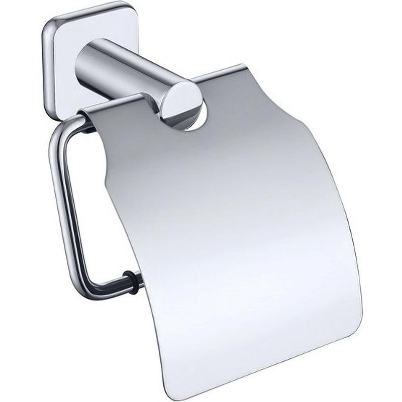 Держатель туалетной бумаги Kaiser KH-1700 с крышкой Хром