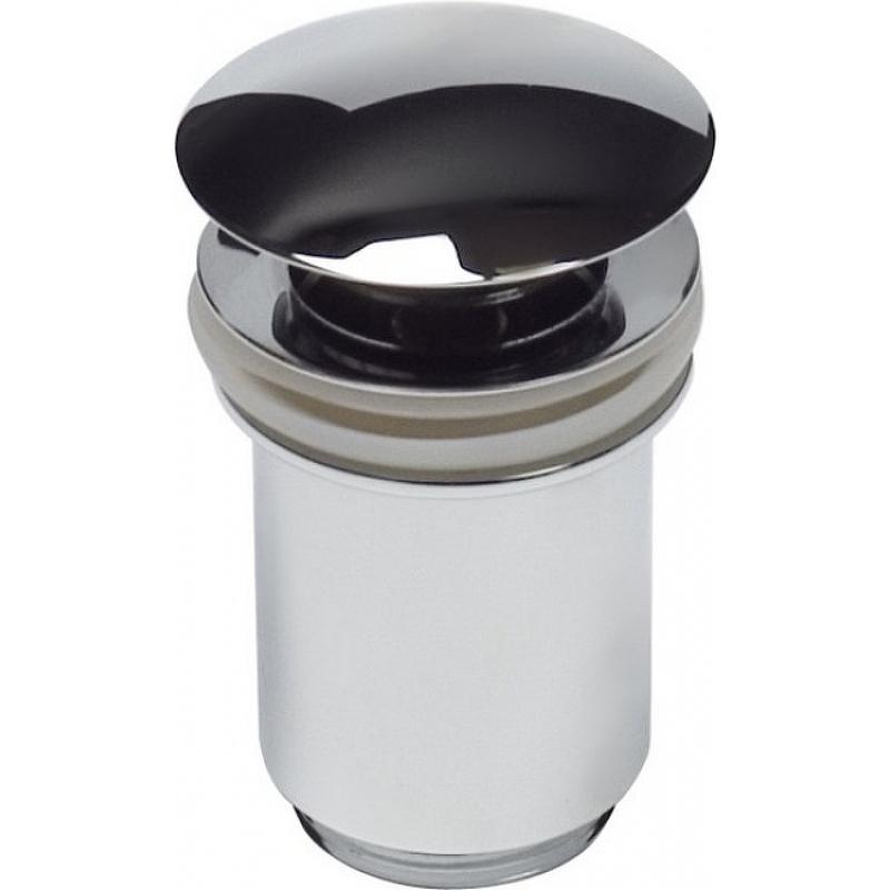 Донный клапан Kaiser 8011 click-clack Хром донный клапан kaiser click clack квадрат с переливом хром 8034