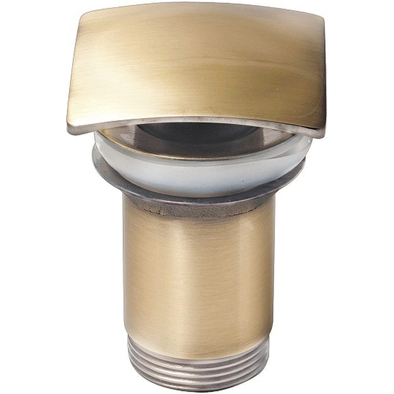 Донный клапан Kaiser 8033An click-clack Бронза донный клапан kaiser 8038 click clack хром