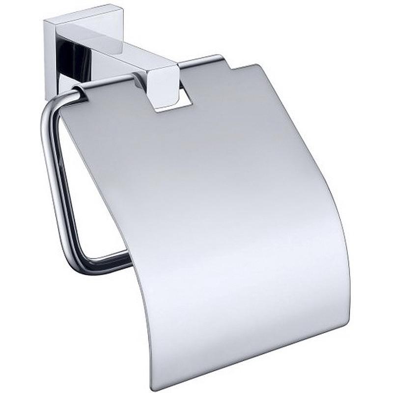 Держатель туалетной бумаги Kaiser KH-2300 с крышкой Хром