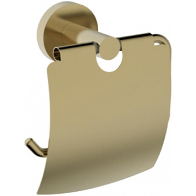 Держатель туалетной бумаги Kaiser KH-4100 с крышкой Бронза