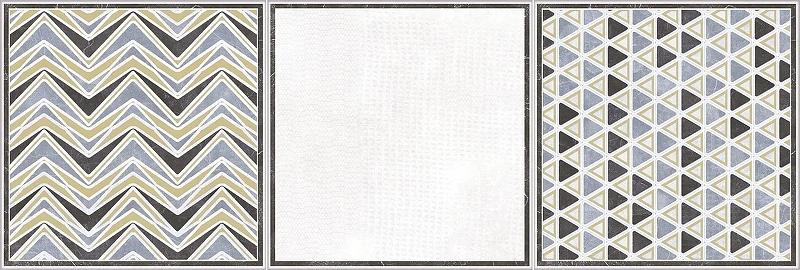 Керамическая плитка Rocersa Groovy Dec Cold настенная 20х60 см