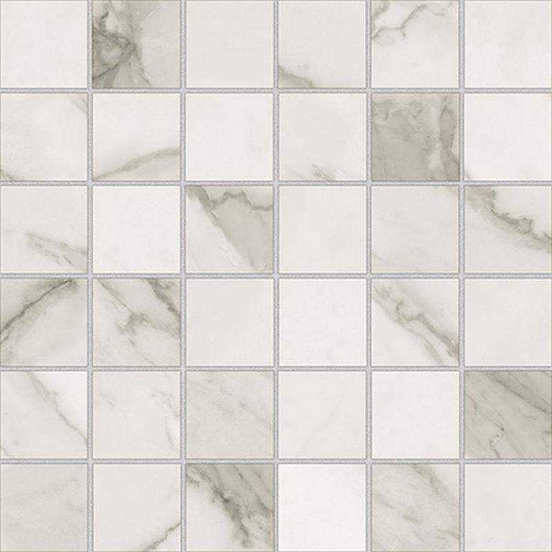 Керамическая мозаика Azteca Calacatta Lux Silver 29,8х29,8 см