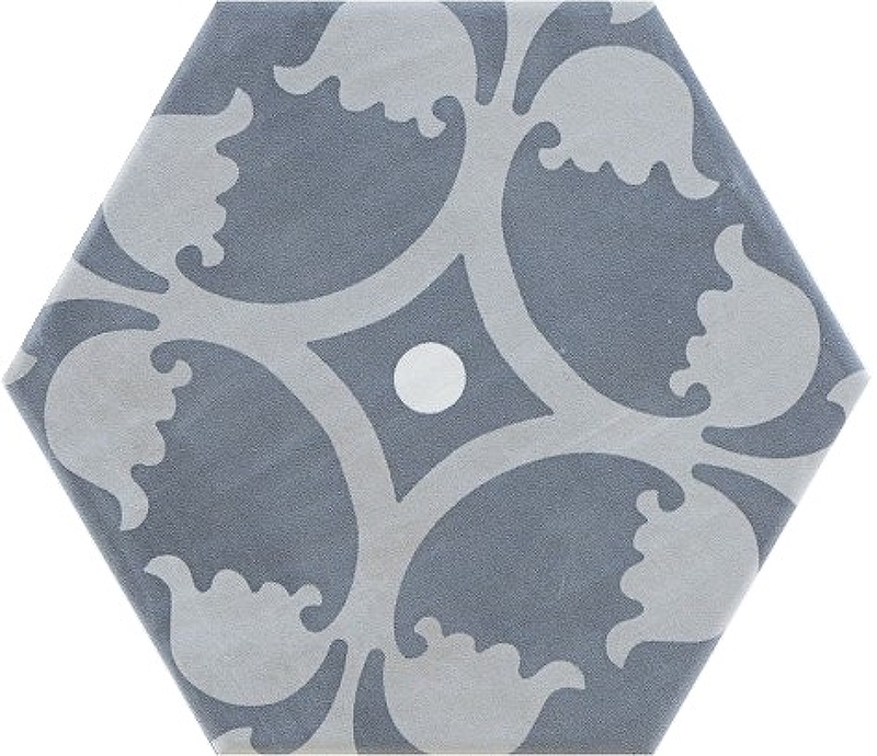 Керамогранит Pamesa Ceramica Jubilee/Mayfair/Carnaby Hex Sloane Cement Mix 19,8х22,8 см панно ape ceramica lord wimbledon mix 20x20 см