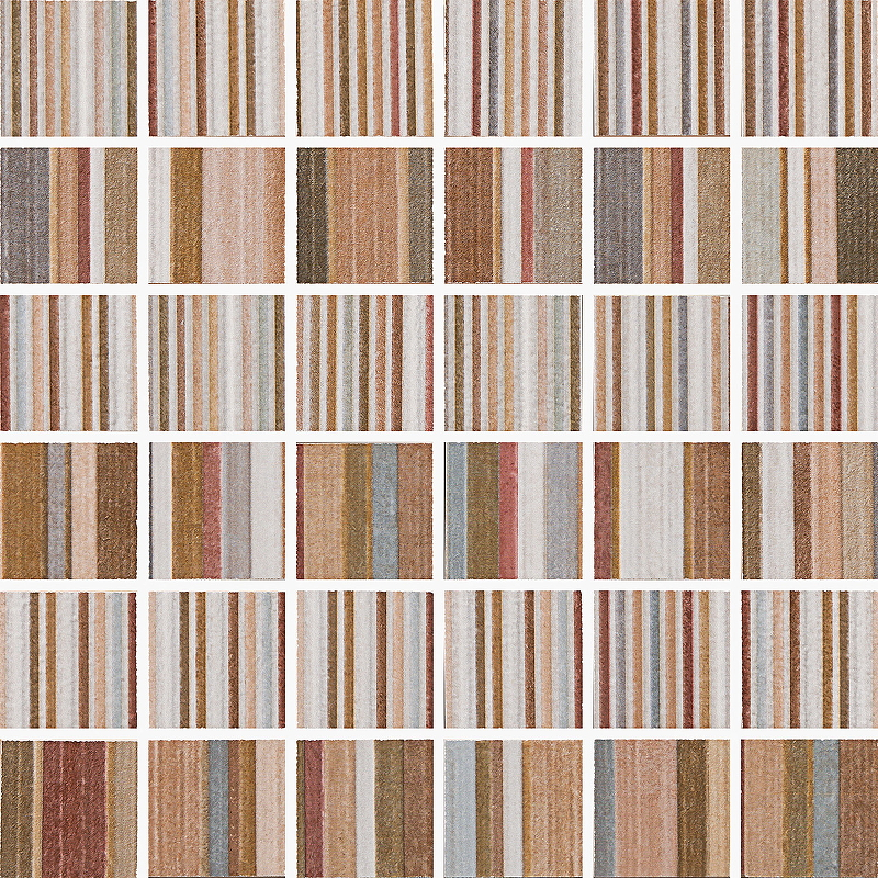 Керамическая мозаика Pamesa Ceramica Jubilee Wembley Bond St Malla Bond St Multicolor 30х30 см