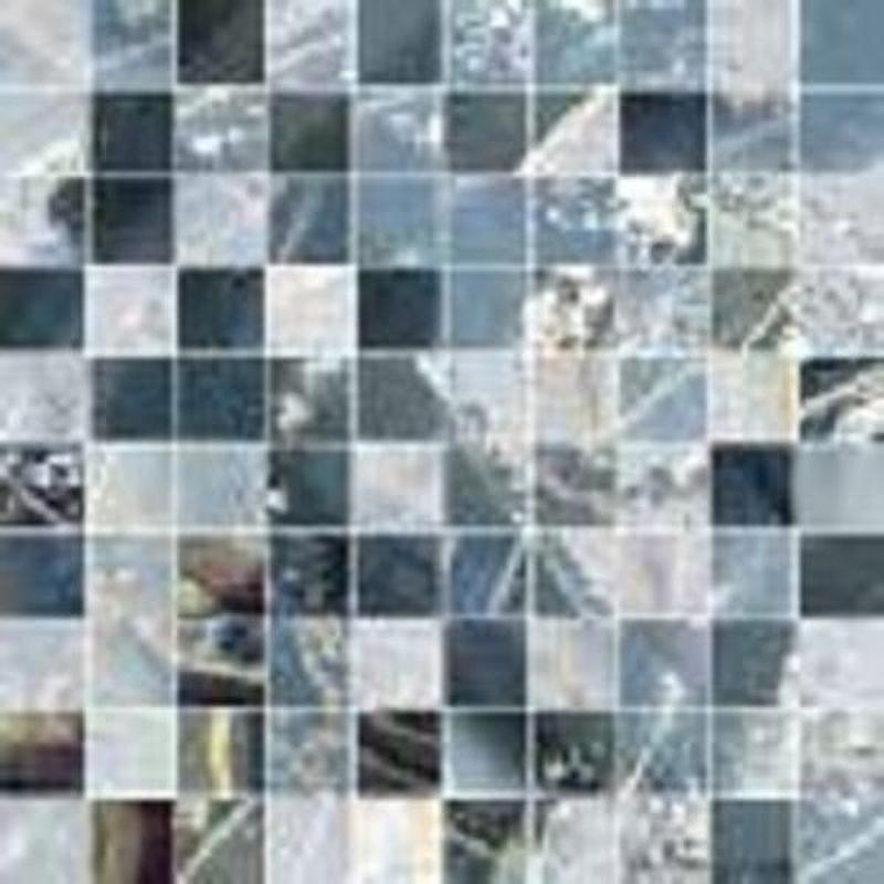 Керамическая мозаика Ceramiche Brennero Jewel Nebulosa mix blue 30х30 см