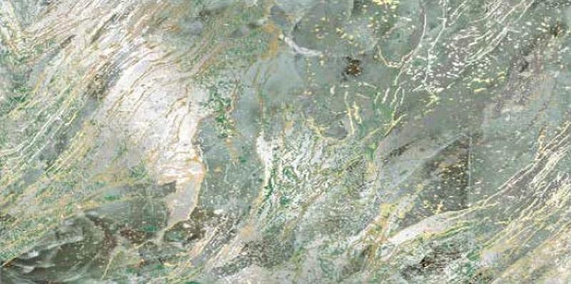Керамический декор Ceramiche Brennero Jewel Nebulosa emerald 60х120 см