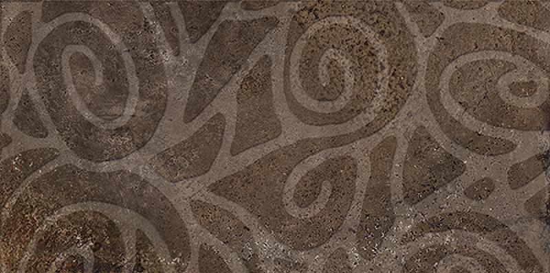 Керамогранит Ceramiche Brennero Explora Pav. Dekora Bronze Lapp 60х120 см