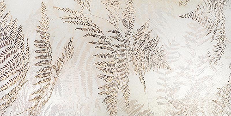 Керамический декор Ceramiche Brennero Explora Aura white bronze 60х120 см