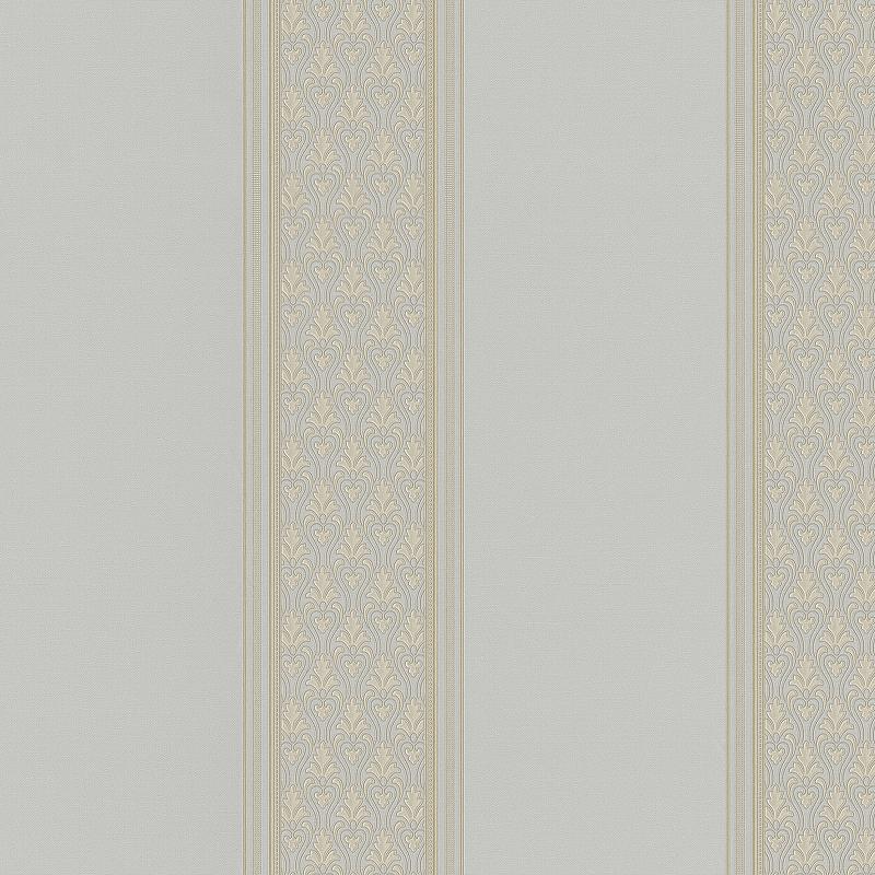 Обои Bernardo Bartalucci Renzo 84167-5 Винил на флизелине (1,06*10,05) Серый, Полоса