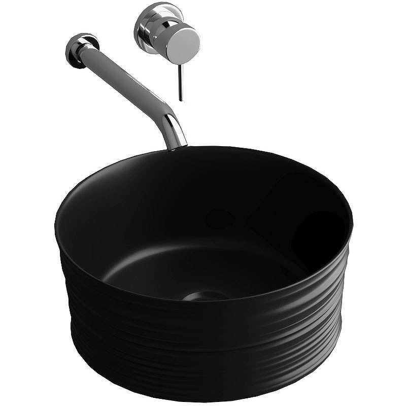 Фото - Раковина-чаша Grossman 40 GR-3025BM Черная матовая раковина чаша 41х33 см grossman gr 3018