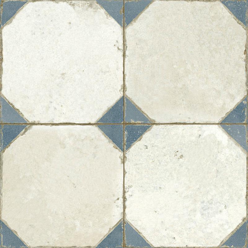 Керамическая плитка Peronda FS Yard Blue напольная 45х45 см