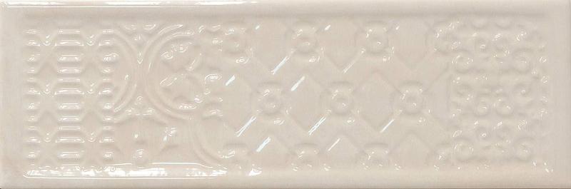 Керамическая плитка Cifre Rev. Titan Decor ivory настенная 10х30,5 см