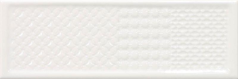 Керамическая плитка Cifre Rev. Titan Decor glaciar настенная 10х30,5 см