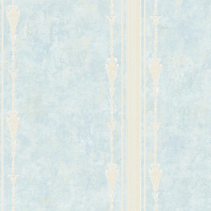 Фото - Обои Bernardo Bartalucci Cesara 5009-3 Флизелин (1,06*10,05) Голубой, Полоса обои bernardo bartalucci cesara 5013 3 флизелин 1 06 10 05 бежевый ромб