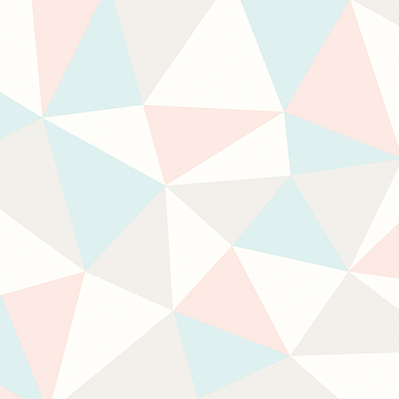 Обои Andrea Rossi Arlequin 54307-3 Винил на флизелине (1,06*10,05) Розовый, Геометрия
